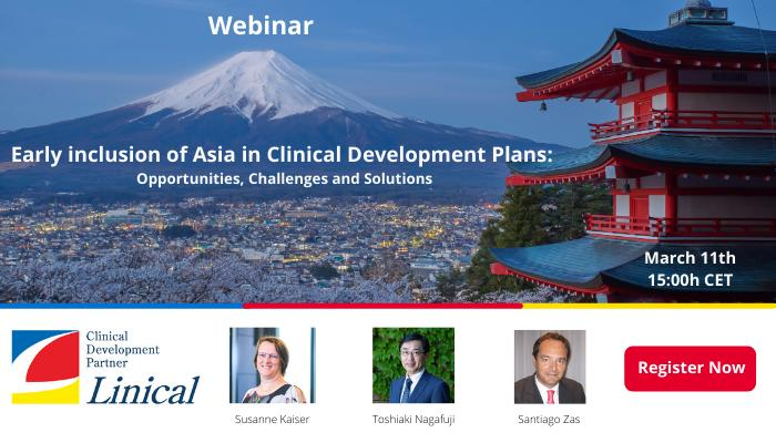 Linical Webinar - Clinical Development in Asia